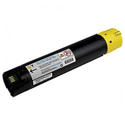 Remanufactured Dell 330-5852 (T222N) toner cartridge - high capacity yellow