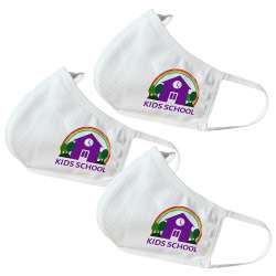 KIDS SIZE - Kids School Themed Face Masks (3 Pack)