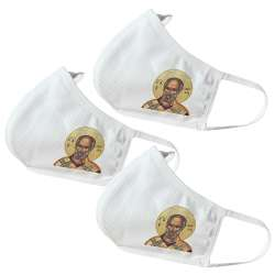 Saint Nikolas Themed Face Masks V2 (3 Pack)