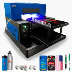DTG PRO L1800 FUSION UV LED V2.0 Direct to Substrate Printer - includes FREE Platen for Bottles