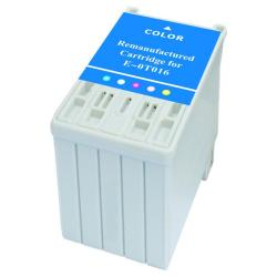 Remanufactured Epson T016201 inkjet cartridge - color
