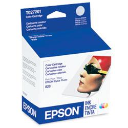 Original Epson T027201 inkjet cartridge - photo