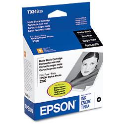 Original Epson T034820 inkjet cartridge - matte black