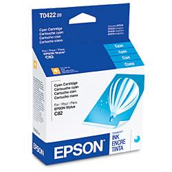 Original Epson T042220 inkjet cartridge - cyan