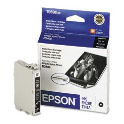 Original Epson T059820 inkjet cartridge - matte black