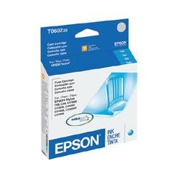 Original Epson T060220 (60) inkjet cartridge - cyan