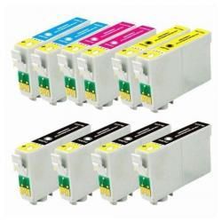 Remanufactured inkjet cartridges Multipack for Epson 60 - 10 pack