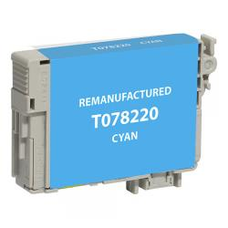 Remanufactured Epson T078220 (78) inkjet cartridge - cyan