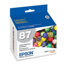 Original Epson T087020 (87) inkjet cartridge - gloss optimizer