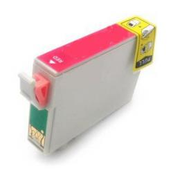 Remanufactured Epson T087720 (87) inkjet cartridge - red
