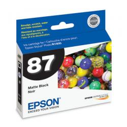 Original Epson T087820 (87) inkjet cartridge - matte black
