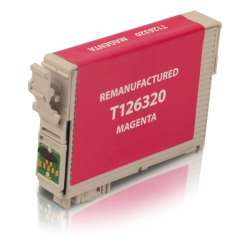 Remanufactured Epson T126320 (126) inkjet cartridge - high capacity pigmented magenta