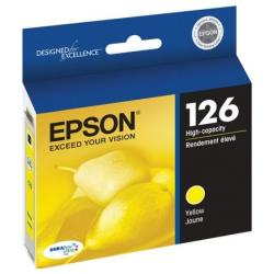 Original Epson T126420 (126) inkjet cartridge - high capacity yellow