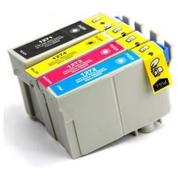 Remanufactured inkjet cartridges Multipack for Epson 127 - 4 pack