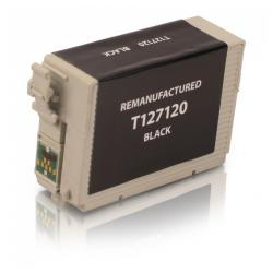 Remanufactured Epson T127120 (127) inkjet cartridge - extra high capacity pigmented black