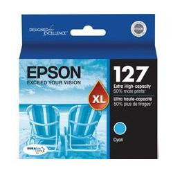 Original Epson T127220 (127) inkjet cartridge - extra high capacity cyan