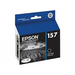 Original Epson T157120 (157) inkjet cartridge - photo black