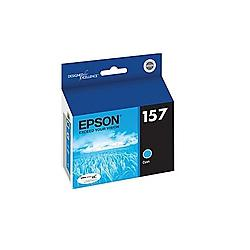 Original Epson T157220 (157) inkjet cartridge - cyan