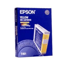 Original Epson T461011 inkjet cartridge - yellow