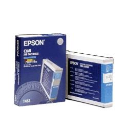 Original Epson T463011 inkjet cartridge - cyan