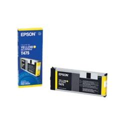 Original Epson T475011 inkjet cartridge - yellow