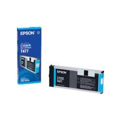 Original Epson T477011 inkjet cartridge - cyan