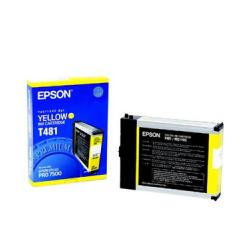 Original Epson T481011 inkjet cartridge - yellow