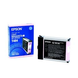 Original Epson T484011 inkjet cartridge - light magenta