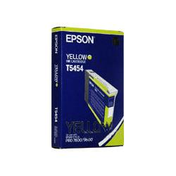 Original Epson T545400 inkjet cartridge - yellow