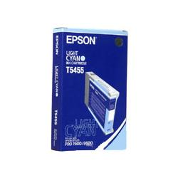 Original Epson T545500 inkjet cartridge - light cyan