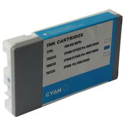 Compatible inkjet cartridge for Epson T603200 - ultrachrome cyan