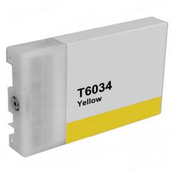 Compatible inkjet cartridge for Epson T603400 - ultrachrome yellow