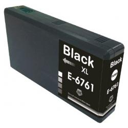 Remanufactured Epson T676XL120 (676XL) inkjet cartridge - high capacity pigmented black