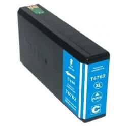 Remanufactured Epson T676XL220 (676XL) inkjet cartridge - high capacity pigmented cyan