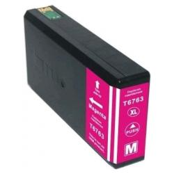 Remanufactured Epson T676XL320 (676XL) inkjet cartridge - high capacity pigmented magenta