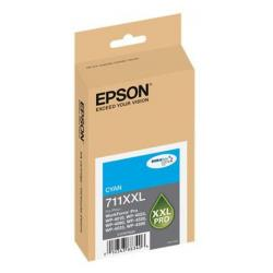 Original Epson T711XXL220 (711XXL) inkjet cartridge - extra high capacity cyan
