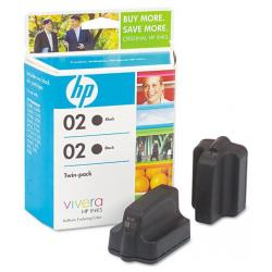 Original HP C9500FN (HP 02 Black) Multipack - 2 pack