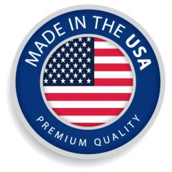 Premium ink cartridge replacement for HP 02 - black - Made in the USA