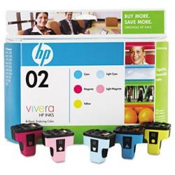 Original HP CC604FN (HP 02) Multipack - 5 pack