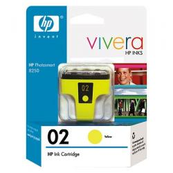 Original HP C8773WN (HP 02) inkjet cartridge - yellow