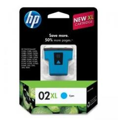 Original HP C8730WN (HP 02XL) inkjet cartridge - cyan
