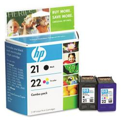 Original HP C9509FN (HP 21/22) Multipack - 2 pack