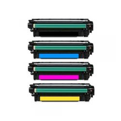 Remanufactured/Compatible HP 307A toner cartridges - 4-pack