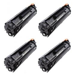 Compatible HP CB435A (35A) toner cartridge - 4-pack