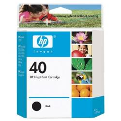 Original HP 51640A (HP 40) inkjet cartridge - black