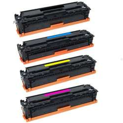 Compatible HP 410X toner cartridges - 4-pack