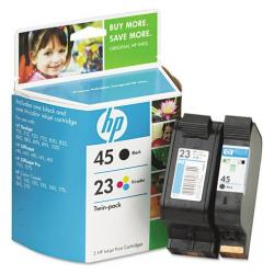 Original HP C8790FN (HP 45/23) Multipack - 2 pack