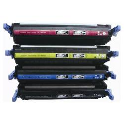 Remanufactured/Compatible HP 501A / 502A toner cartridges - 4-pack