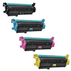 Remanufactured/Compatible HP 508X toner cartridges - 4-pack