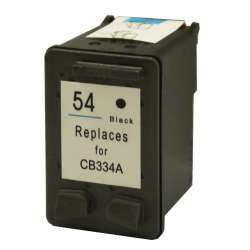 Remanufactured HP CB334AN (HP 54) inkjet cartridge - black
